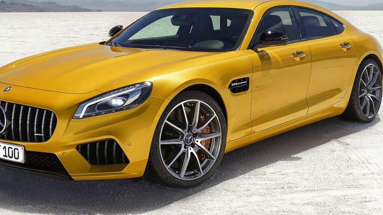 2019 all-new mercedes benz amg gt4 - youtube