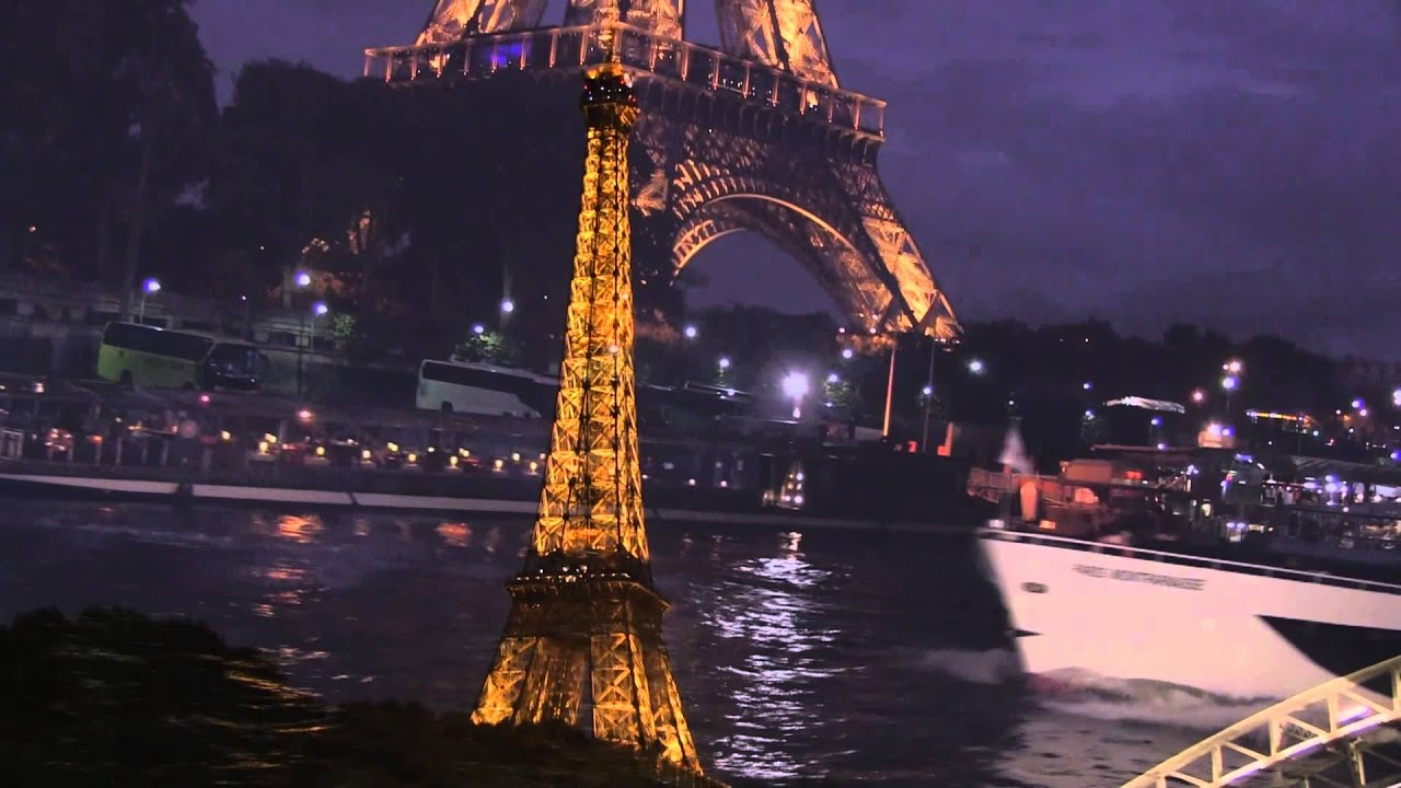 Seine River Cruise At Night Paris France  YouTube