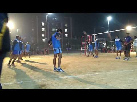 ALL INDIA UNIVERSITY VOLLEYBALL WEST ZONE | GUJARAT UNIVERSITY WARM UP