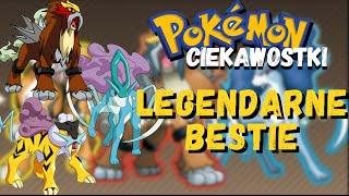 Pokemon Ciekawostki #19 – Legendarne bestie