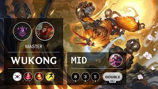 Wukong Mid vs Irelia - KR Master Patch 9.20