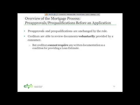 CFPB Know Before You Owe Integrated Mortgage Disclosure Rule Webinar - 7/28/2015