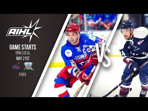 AIHL Live Game 30: Ice Dogs @ Northstars (21/05/17)