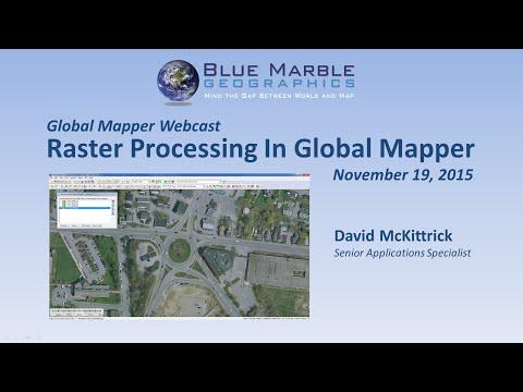 Raster Processing in Global Mapper