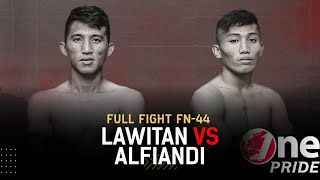 Title Fight Interim Bantamweight! Brian Lawitan vs Alfiandi | Full Fight One Pride MMA FN 44