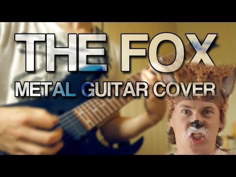 Ylvis - The Fox [ Metal Guitar Cover ] HD Remix