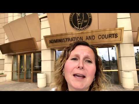 Golden CO Courthouse for license plates with Chrissie