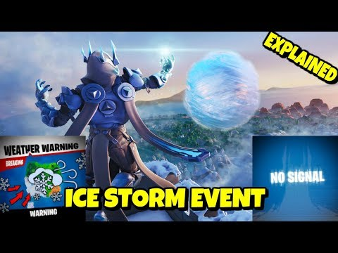 NEW ICE STORM LIVE EVENT *EXPLAINED* - CHALLENGES + FREE REWARDS