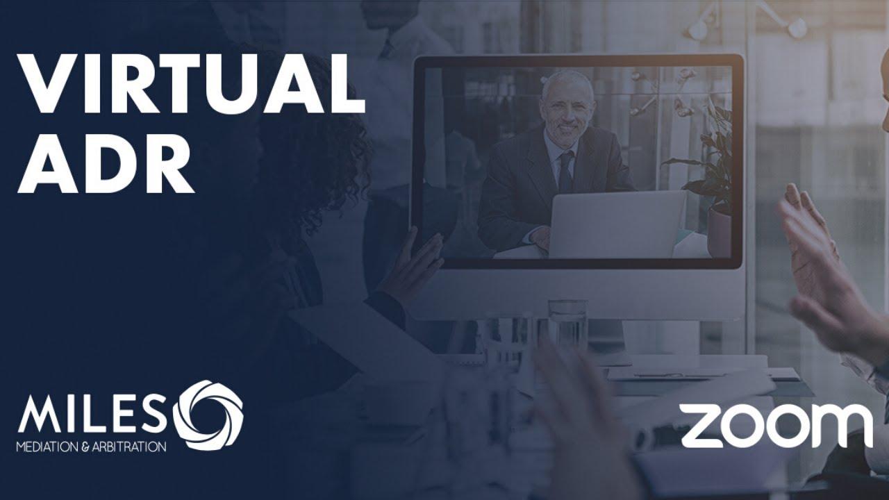 Virtual ADR: Online Mediation Client Tutorial video