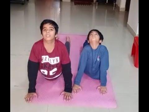 surya namaskar yogakids  youtube