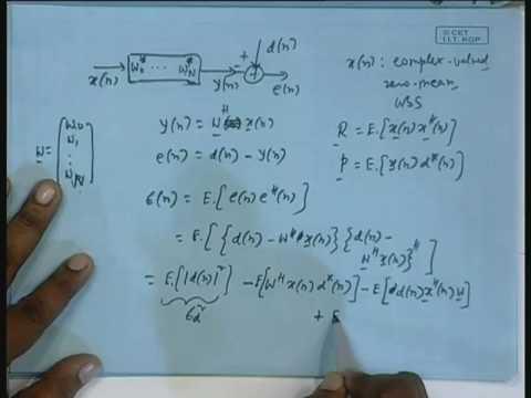 Lecture - 7 LMS Algorithm