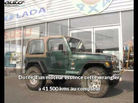 Jeep Wrangler Occasion Visible à Biganos Présentée Par Sud Ouest 4x4
