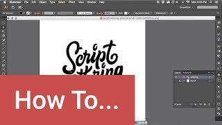 How to Vector Hand Lettering