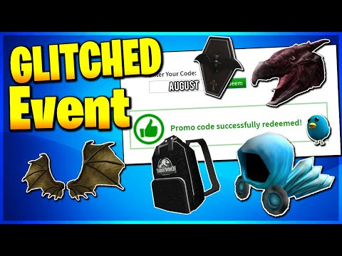 Roblox Promo Code All Working Promo Codes On Roblox 2019 Roblox Glitched Eventnot Expired - roblox game guardian bloxburg free robux codes giveaway 2019