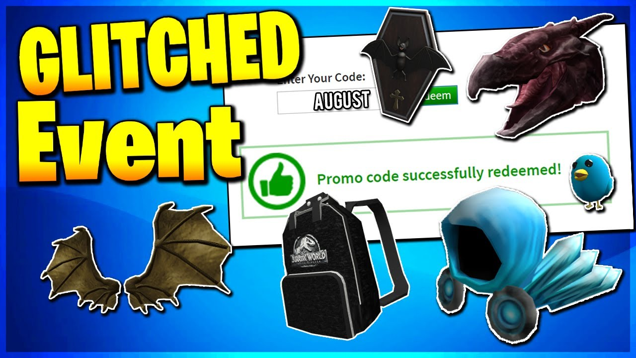 [ROBLOX PROMO CODE] ALL WORKING PROMO CODES ON ROBLOX 2019| ROBLOX GLITCHED  EVENT(NOT EXPIRED!)