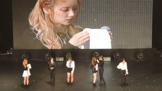 """161118 Apink - Crying+The Wave(네가 손짓해주면)+End @ Apink """"PINK AURORA"""" ASIA TOUR in Taipei"""