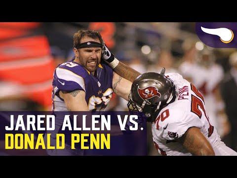 Jared Allen vs. Donald Penn Fight from 2012
