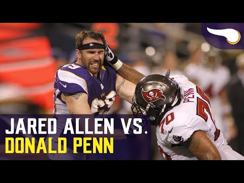 Jared Allen vs. Donald Penn Fight from 2012