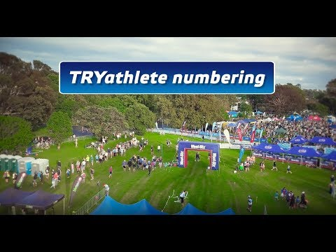 How To: TRYathlete Numbering