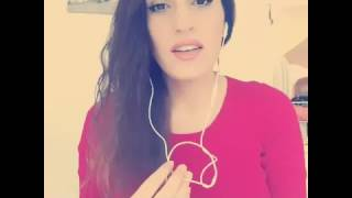 فتاة لبنانية الغني اغنيه لله يا جمالك