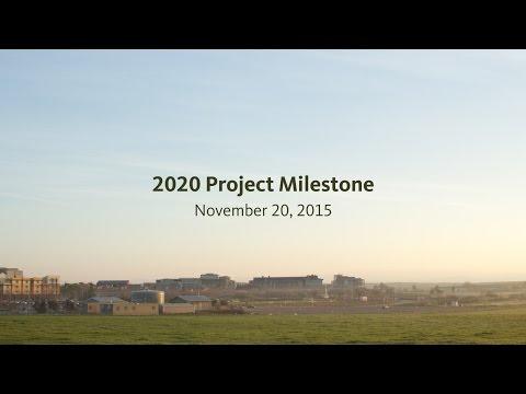 2020 Project Milestone