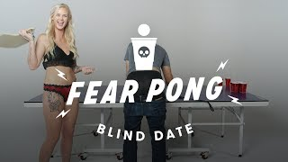 Blind Dates Play Fear Pong  (Peter vs. Ashley) | Cut