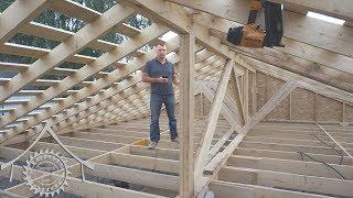 Деревянное перекрытие и крыша. Правильное устройство узлов.