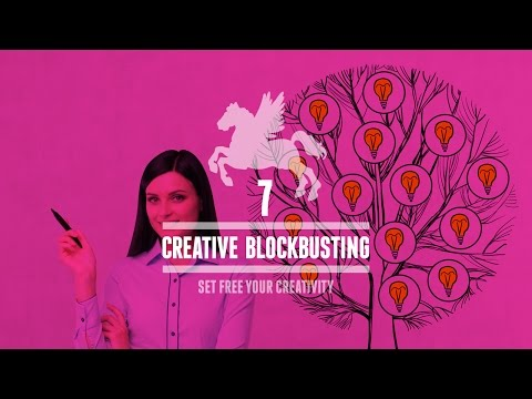 Set Free Your Creativity Day 7 - Creative Blockbusting