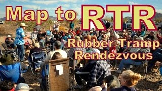 Map Guide to RTR January 10-22, 2017