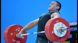 Simon Martirosyan wins Gold at the 2017 European Weightlifting Championships