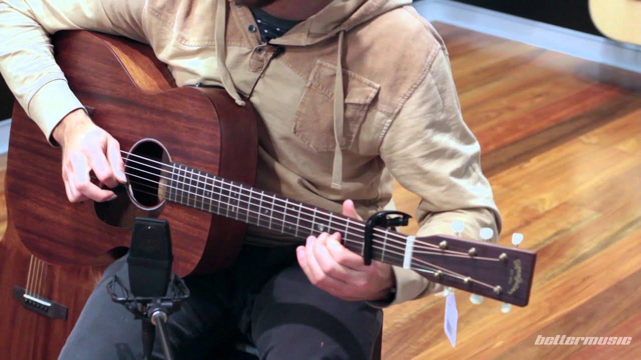 Download Sigma 000M-15E Acoustic Guitar Demo - Jack Biilmann   Better Music