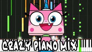 Crazy Piano Mix! UNIKITTY Theme Song