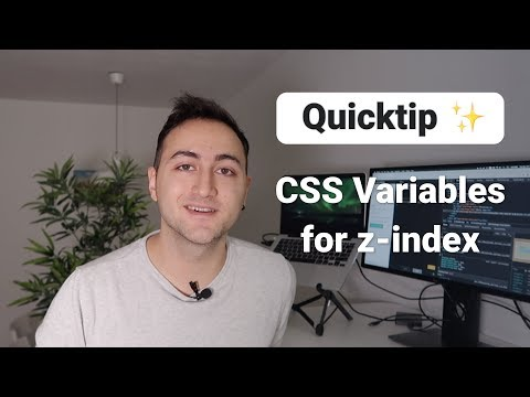 Quicktip ✨ CSS Variables for z-index