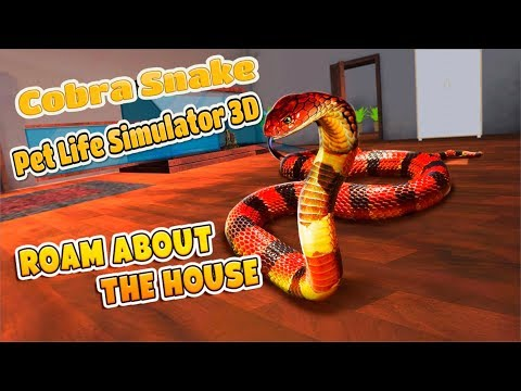 🐍Cobra Snake Pet Life Simulator 3D- By PlayMechanics-Android📱