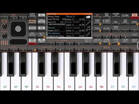 Tip Tip Barsa Pani Instrumental Mobile Piano ORG2018