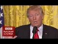 Журналист подловил Трампа на лжи