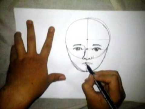 Cara Paling Mudah Menggambar Wajah Untuk Pemula Youtube