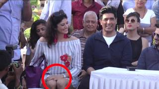 Pooja Batra Oops Moment In Public | PANTY Captured On Camera