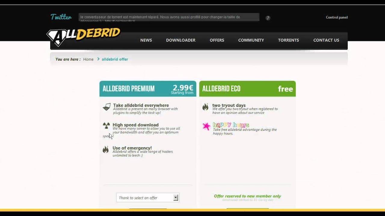 Como actualizar tu cuenta AlldeBrid