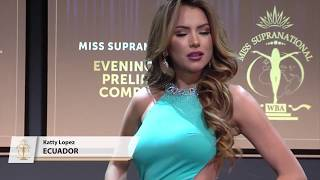 Miss Supranational 2017 - Preliminary Evening Gown Competition Live