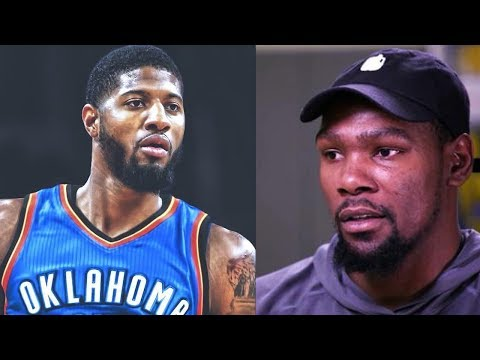 Kevin Durant Gives Paul George Advice on Joining the OKC Thunder