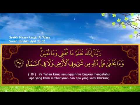 Merinding dengar Doa Indah Nabi Ibrahim yang dilantunkan dengan merdu oleh Syaikh Mishari Alafasy