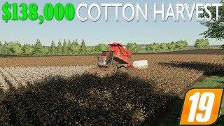 FS19 - $138,000 Cotton Harvest