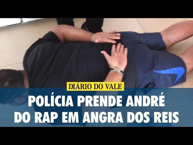 Polícia prende André do Rap, em Angra dos Reis, e apreende helicóptero e lancha