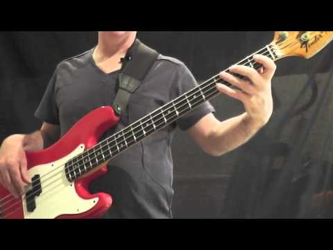 How To Play Bass To Can't Get Enough Part 1