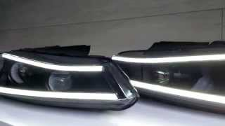 Laser Lights Headlights Peugeot 406. Альтернативная оптика Peugeot 406