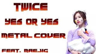 TWICE  트와이스  -  YES or YES metal cover