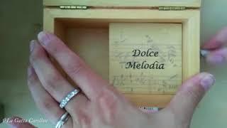 RINO GAETANO, Cogli la mia rosa d'amore - Carillon Portagioie musicale personalizzato con spartito