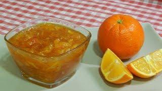 Cómo hacer mermelada casera de naranja Receta fácil