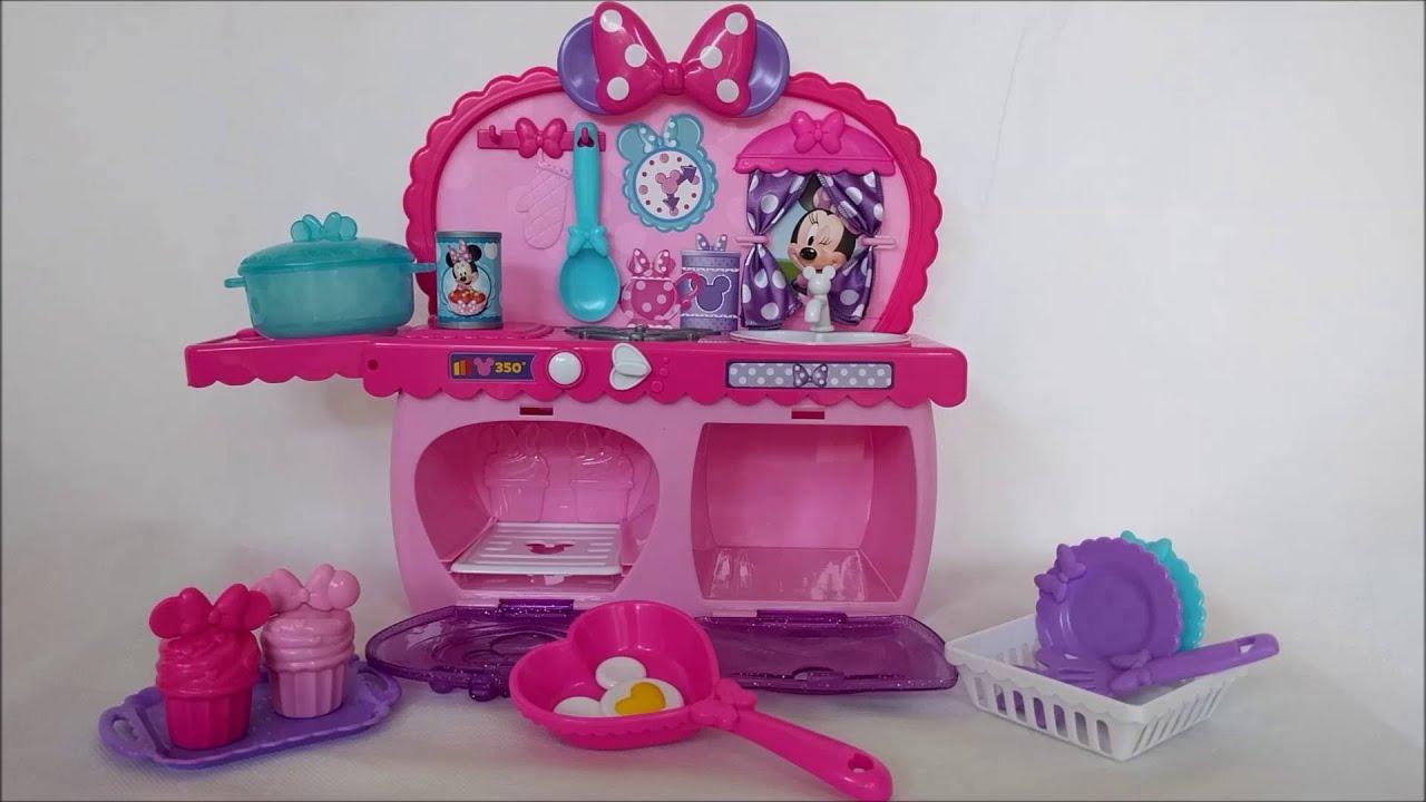 Minnie Bowtastic Kitchen Set Toy Review